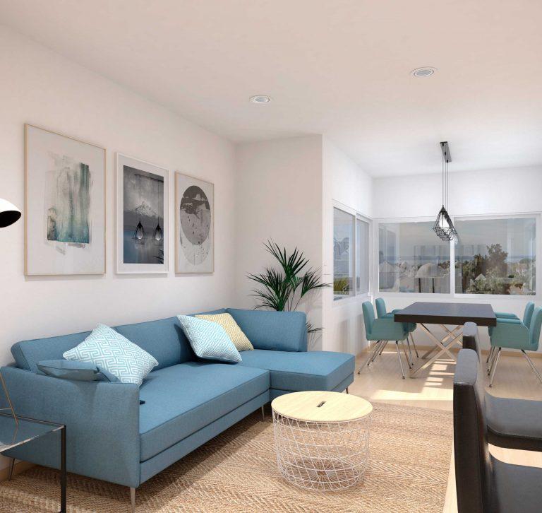 Render Interior de Apartamento