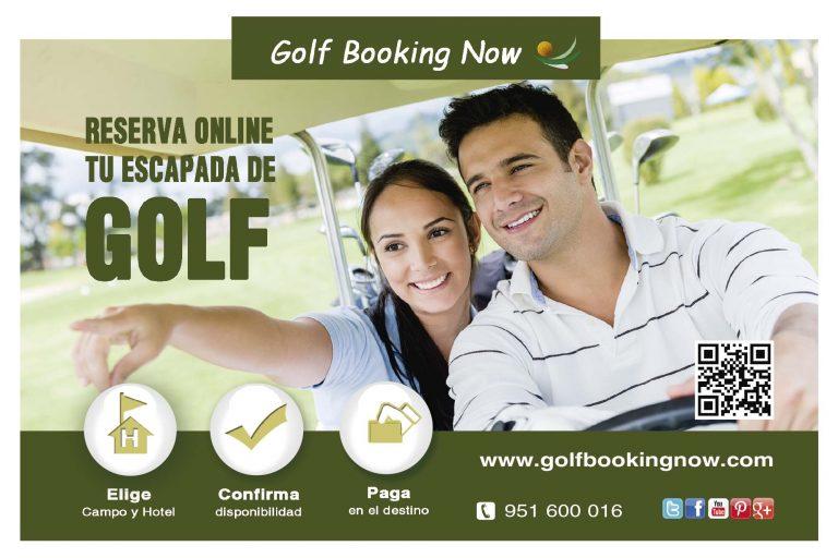 Diseño Publicidad Revista de Golf en Andalucia