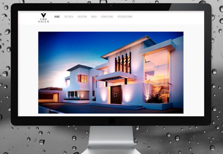 Diseño Web Villa en Venta