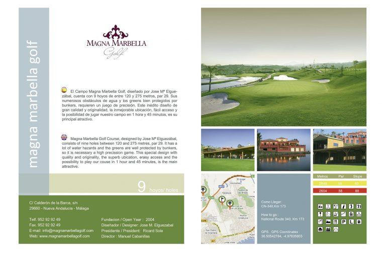 Diseño de Guia de Golf en Andalucía