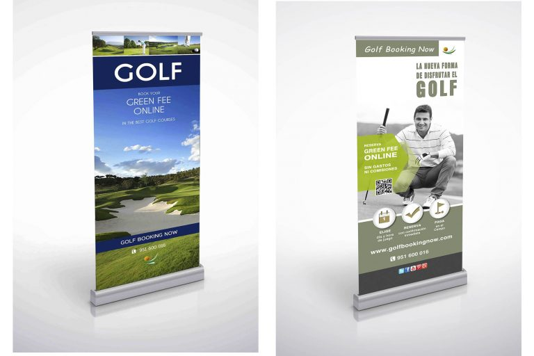 Roll up Publicdad de Golf