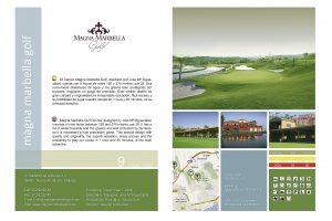 Diseño Guía Publicitaria de Golf