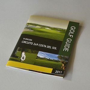 Diseño de Guía de Golf