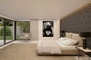 Render Interior Dormitorio Principal