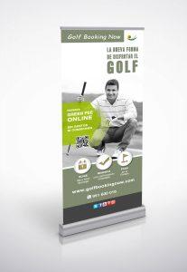 Diseño de Roll-up de Golf